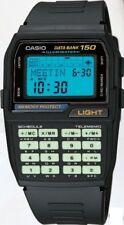 CASIO DATABANK DBC150B DBC150B-1 WATCH CALCULATOR (150 MEMORY) (LUMINOUS KEYPAD)