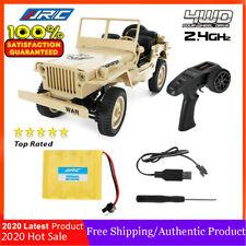 JJRC Q65 1/10 4WD 2.4G RC Car Off-road Vehicle Crawler Jedi Jeep Military Truck