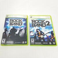 Rock Band and Rock Band 2 (Microsoft Xbox 360, 2007, 2008) - CID, Manual