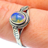 Ethiopian Opal 925 Sterling Silver Ring Size 9 Ana Co Jewelry R38190F