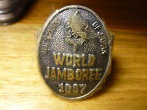 World Jamboree 1967 - Boy Scouts Of Japan Neckerchief Slide