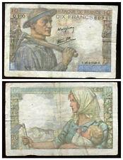 10 francs MINEUR    26/04/1945  ( Q 100 )