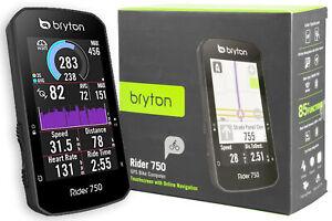 OFFICIAL Bryton Rider 750E Bike Cycling Computer GPS Touchscreen America Edition