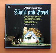 Humperdinck Hansel und Gretel Otmar Suitner Telefunken SAT 22521/22 Stereo 2xLP