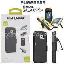PureGear Samsung Galaxy S6 Hip Credit Card Case Holster Combo W/ Belt Clip