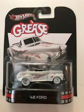 HOT WHEELS MOVIE GREASE 1948 '48 FORD CONVERTIBLE WHITE WALL TIRES