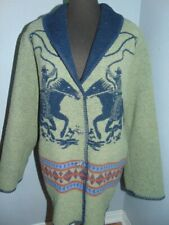 Wooded River Clothing Co. Wool Blend 3/4 Length Jacket Equestrian Horse Rider M