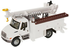 11733 Walthers SceneMaster International 4300 Utility Truck w/Drill MOW Truck