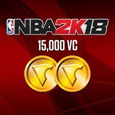 NEW NBA 2k18: 15,000 VC - PS4/Xbox One Digital Code