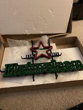 Heineken Light 30' Neon Bar Sign Brand New