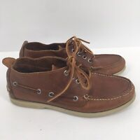 Sperry Original Boardwalk Chukka Men's Brown Leather Boat Shoes 7.5 M
