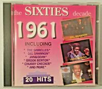 Various - 20 Hits From The 60s - The Sixties Decade 1961 Compilation CD Album