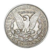 1878 Morgan Dollar Hobo Nickel coin skull zombie skeleton fantasy Hobo Nickels