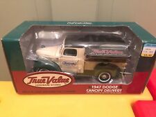 Ertl Collectibles 1947 Dodge Canopy Delivery Truck Die Cast Metal Bank