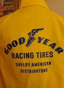 Shelby American Jacket VTG Large Goodyear Tire Distributors Terlingua Cobra