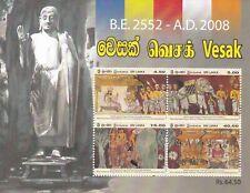 Sri Lanka 2008 Vesak Miniature Sheet Mnh