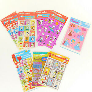 Stickers 9 Assorted Packs Peanuts Cinderella Reward Sayings