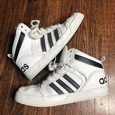 adidas neo Boy's Raleigh 9TIS Mid K Sneaker CG5799 White Black Youth 4.5 Shoes