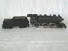 Vintage HO Scale Brass Japan Steam Locomotive And Coal Tender Car