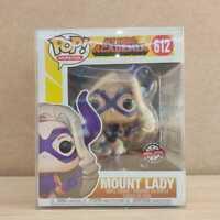 Funko POP Animation My Hero Academia Mount Lady 612 Special Edition W/ Protector