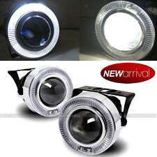 "For Eclipse 3"" White Halo Projector Bumper Driving Fog Light Lamp Kit Set"