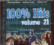 100% HITS - VOLUME 21 - VARIOUS ARTISTS - CD