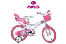 10 IN Vélo Vélo Pour Enfants Filles Disney Minnie Mouse Mickey Minnie Mouse Rose