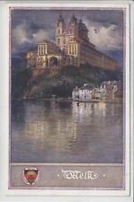 AK Melk, Stift, Dt. Schulverein Nr. 163, 1924