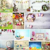 Easter Day Theme Vinyl Photography Backdrop Custom Photo Background Props Decor