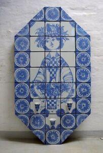 Bjørn Wiinblad (1918-2006). Huge, octagonal, unique candle holder wall plaque.