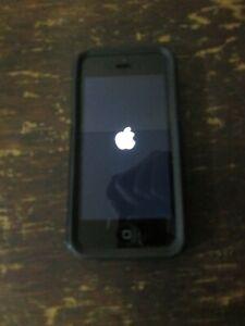 Apple iPhone 5 16GB Black Android Cell Phone + OtterBox Used Verizon