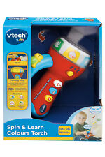 NEW V-Tech Spin & Learn Colours Torch