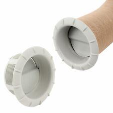 Endstück Warmluftaustritt Grau Truma für 65mm Warmluftrohre verschließbar