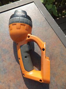 Ridgid 18V R849 Adjustable Swivel Head Work Light - Tool Only - Works