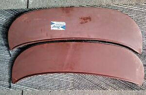 1 pair NORS 1968 FORD GALAXIE & CUSTOM 500 FENDER SKIRTS (foxcraft)