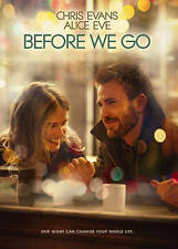 Before We Go (DVD, 2015) NEW