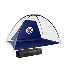 Portable Golf Soccer Cricket Sport Training Aid Target Driving Mesh Net Navy