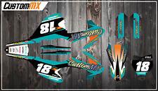 KTM SX85 Full Graphics Kit 2003-2012 2013-2017 2018-2019 SX 85 Decals Stickers