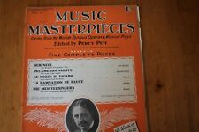 Musical Masterpieces 21: Percy Pitt 5 Complete Pieces: World's Operas/Plays