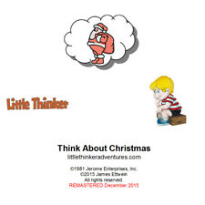 Little Thinker - Think About Christmas - New Cd remastered from cassette tape