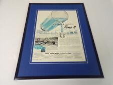 1951 Food Machinery & Chemical Framed 11x14 ORIGINAL Vintage Advertisement B