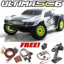 Kyosho 30859 ULTIMA SC6 2WD 1/10 Short Course Truck RTR w/ KT-331 + Free Car LED