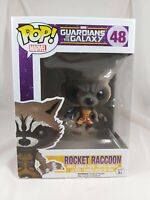 Marvel Funko Pop - Rocket Raccoon (Flocked) - Guardians of the Galaxy - No. 48