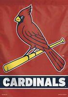 St Louis Cardinals Flag 28 x 40 Bird on Bat STL FREE SHIPPING