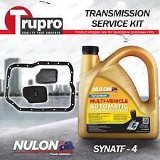 SYNATF Transmission Oil + Filter Service Kit for Mazda 3 BK BL MPS 6 GH CX-7 ER