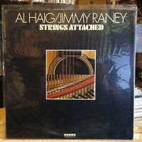 [SOUL/JAZZ]~NM LP~AL HAIG~JIMMY RANEY~Strings Attached~[Original 1975~CHOICE~Iss