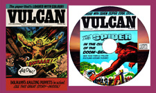 Vulcan  Comics  - 39 issues & specials with viewing software for PC on CD