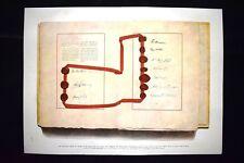 Les signatures des Etats-Unis Grande Bretagne Canada Inde WW1 Guerra 1914 - 1918