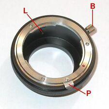 Fujifilm X-Pro1 FX X Pro1 adattatore per ottiche Nikon G con blocco diaframma