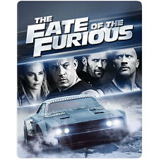 The Fate of the Furious - Best Buy Steelbook (Blu-ray) PREORDER *BRAND NEW*